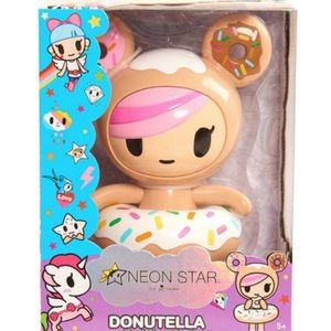 Neon Star by TokiDoki Vinyl Figure - Donutella